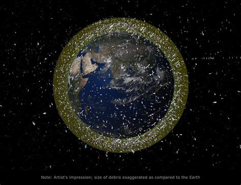 space junk map space in images 2008 03 debris objects in low earth
