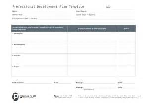 5 year professional development plan template jpabusiness professional development plan template