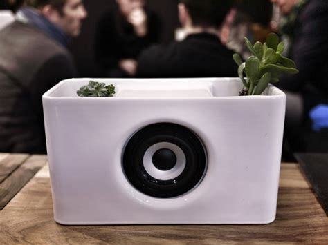 kitchen speakers beautiful ceramic bluetooth speaker for your kitchen mwc 2013 cult of mac