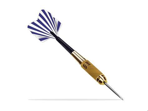 dart design dart design vector with closeup illustration free vector