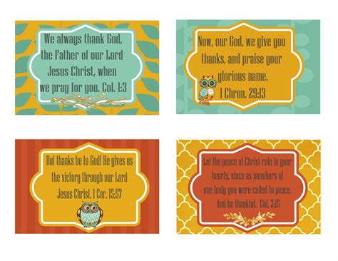 printable religious thanksgiving cards free printable give thanks scripture cards