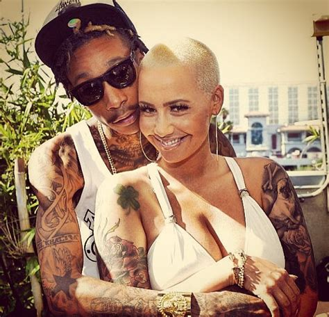 amber rose cheated on wiz khalifa with her driver music news and reviews music news wiz khalifa marries