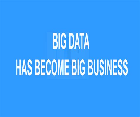 big data big business how to win with a big data strategy in the ai and machine learning age books big data has become big business