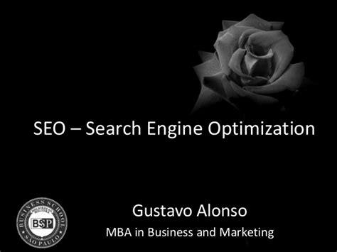Mba Search Engine Optimization by Seo Marketing M 233 Dico
