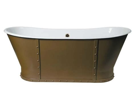 cast iron freestanding bathtubs freestanding cast iron bathtub eiffel by gentry home