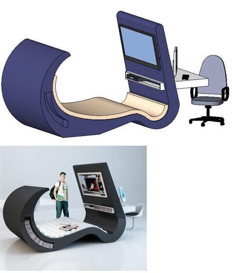 futuristic desk revitcity object futuristic sofa desk