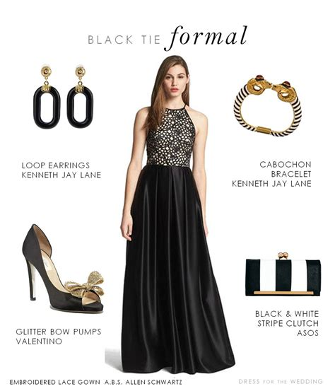 black tie event dress guide for women source http www black tie formal gown