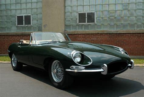 1968 jaguar e type roadster front
