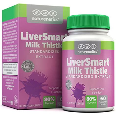 Detoxing Symptoms From Milk by Buy Bargain Milk Thistle Liver Cleanse 6 Active