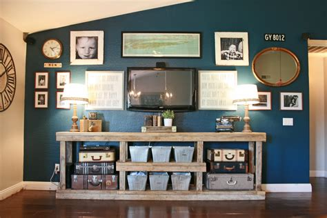 Decorating Ideas Tv Consoles Grand Design How To Search Craigslist And A Media Console