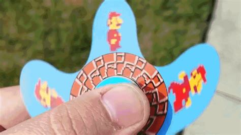 Fidget Spinner Unik Spinner Anime Spinner Original Spinner Murah Unik this animated fidget spinner brings mario to gizmodo australia