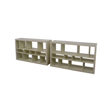 72 off ikea ikea long storage ottoman storage 64 off ikea ikea kallax white shelf units storage