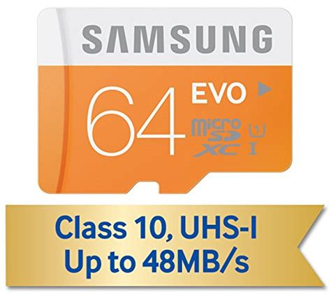 Samsung Microsdhc Evo Class 10 48mbs Mb Mp Bulk Packaging 16gb samsung 64gb evo class 10 micro sdhc with adapter up to 48mb s mb mp64da am iran ssd