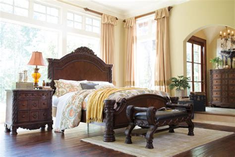 millennium  ashley furniture north shore bedroom group