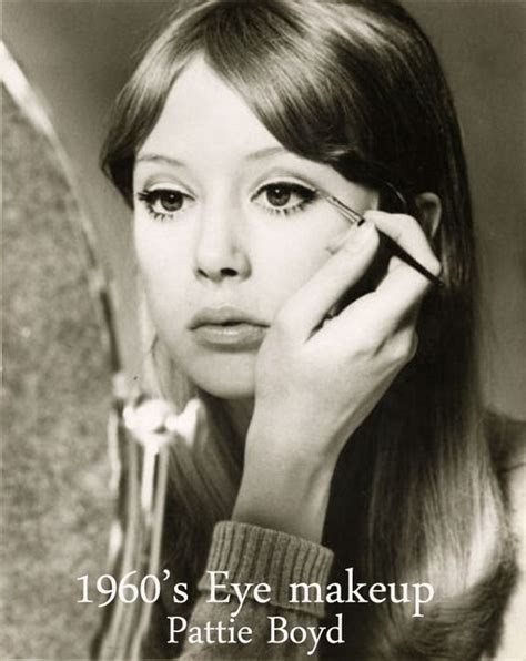 1960s Models With Hair | pattie boyd eye makeup tips and makeup tips on pinterest