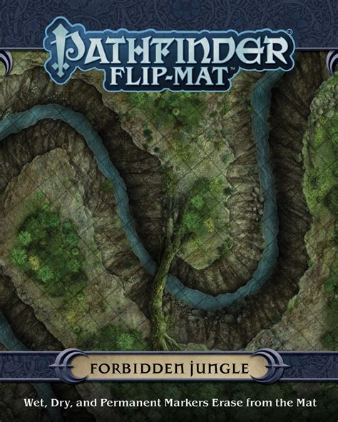paizo pathfinder flip mat forbidden jungle