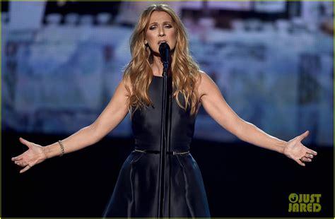 Celine Dion Paris Tribute   celine dion performs touching tribute to paris at amas