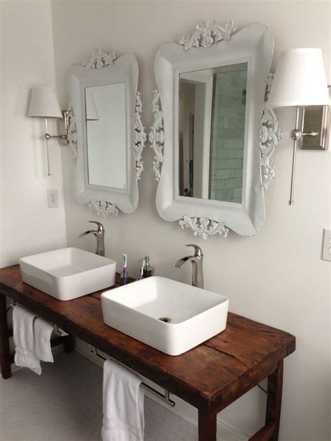 Bathroom Vanity Table Best 25 Vessel Sink Bathroom Ideas On Pinterest Vessel Sink Vanity Vessel Sink And Farmhouse