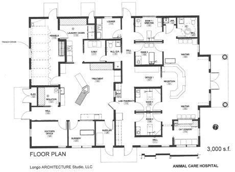 vet clinic floor plans veterinary design on a dime a veterinarian built this efficient practice with less