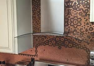 Penny Tile Kitchen Backsplash our newsletter to see more awesome penny projects we feature a quot penny