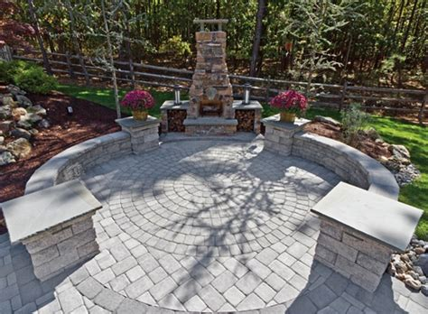 Backyard Paver Design Ideas Patio Designs With Concrete Pavers Lighting Furniture Design
