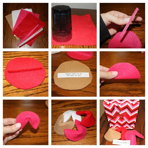How To Make A Paper Fortune Cookie Step By Step - felt fortune cookies sometimes