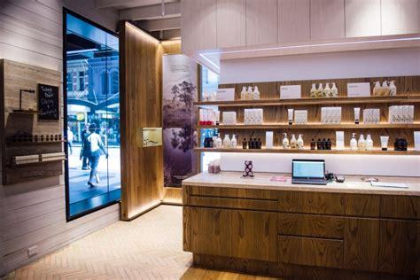 home design store sydney jurlique store by akin creative sydney australia