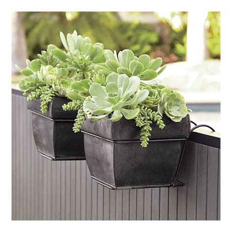 Rail Planter Hook by Deck Railing Planter Hooks Woodworking Projects Plans