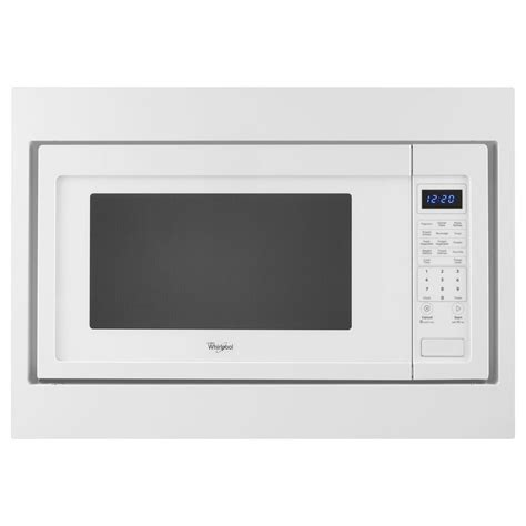 2 2 Cu Ft Countertop Microwave by Shop Whirlpool 2 2 Cu Ft 1 200 Watt Countertop Microwave