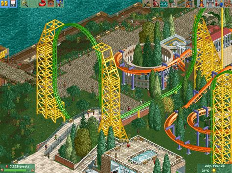 theme park yorkshire rct2 yorkshire point theme park theme park review