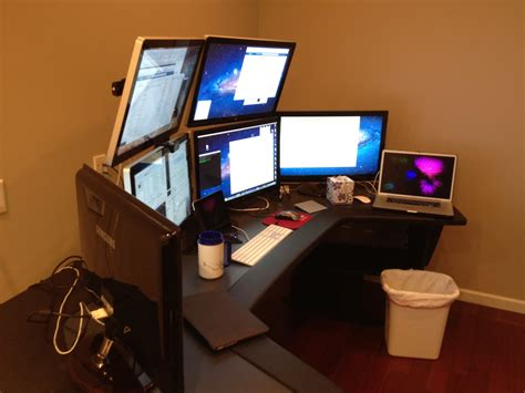 Left Handed Desk Setup Alex Bratton S Ultimate Home Office Lab Setup