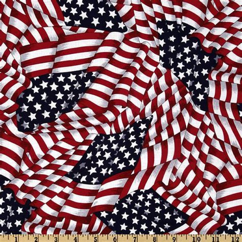 Quilting Fabrics Usa by Patriotic Fabric Flag White Blue Sport By Fabricgiantusa