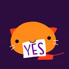 emoji gif cat yes gif by cindy suen find share on giphy