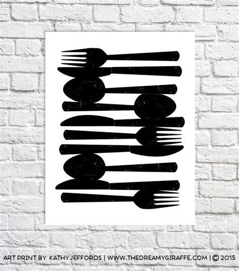 fork art spoon art kitchen decor kitchen utensil art kitchen utensil decor spoon and fork wall decor fork knife