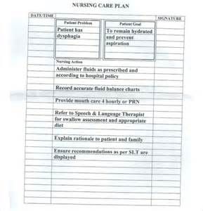 Nursing Care Plan Template by Nursing Care Plan Templates 16 Free Word Excel Pdf