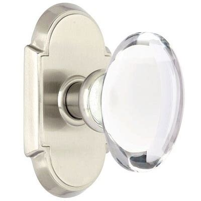 Emtek Glass Knobs by Emtek Hton Clear Door Knob