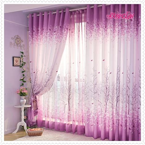 amethyst curtains living room design ideas with romantic curtain kitchen