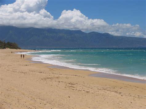 sand beach maui sand beach walk sea beaches maui