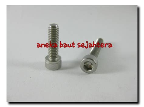 Baut L M3x8 Stainless Steel jual baut l m8x30 stainless steel aneka baut sejahtera