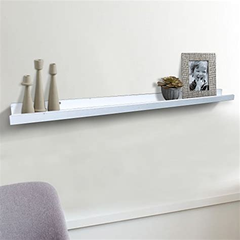 shelving solution large quot l quot shaped floating shelf white
