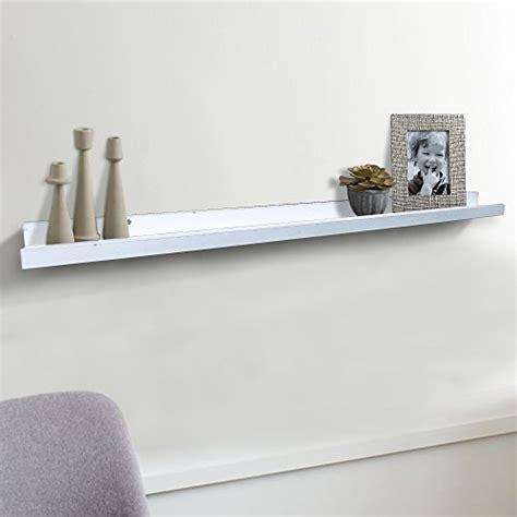 large floating shelves shelving solution large quot l quot shaped floating shelf white 45 1 4 inch