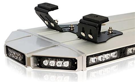 emergency light bar mounts thundereye 48 quot inch low profile roof mount emergency