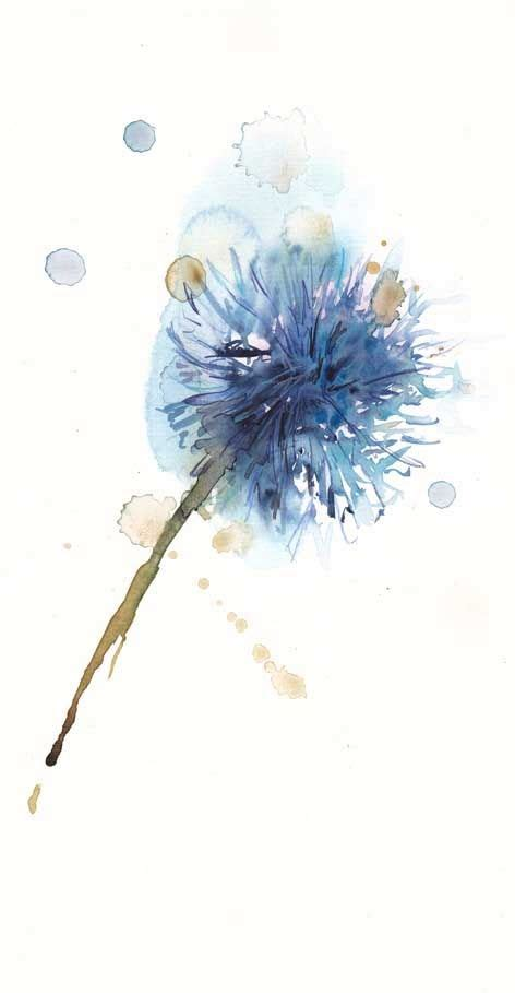 watercolor tattoo dandelion best 25 watercolor dandelion ideas on
