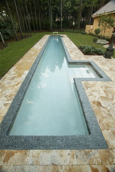 lap pools 30 awesome narrow pools for the tightest spaces digsdigs