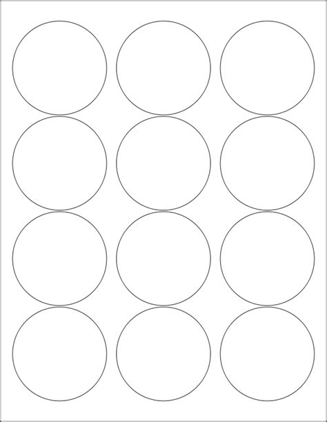 template for circle labels circle label template commonpence co