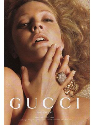 Fab Ad Drew Barrymore For Gucci Jewelry by Drew Barrymore Endorsements