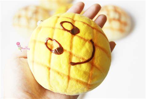Jumbo Melon Squishy By Punimaru jumbo melon pan emoticon bun squishy 183 uber tiny 183 store powered by storenvy