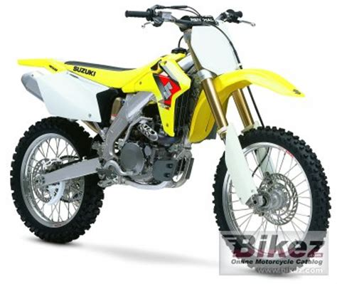 2005 Suzuki Rmz 450 Specs 2005 Suzuki Rm Z 450 Specifications And Pictures