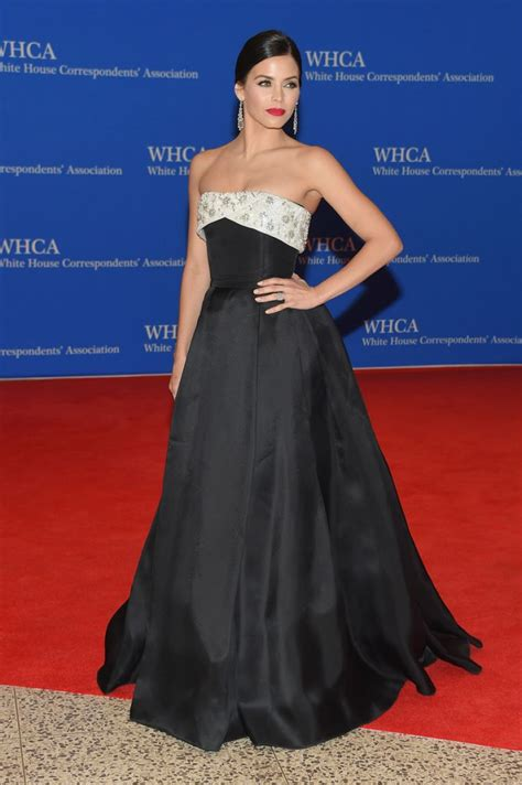 jenna dewan tatum 2015 white jenna dewan tatum in reem acra at the 2015 white house