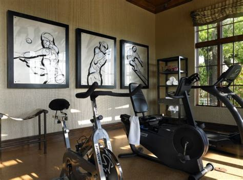 Decorating Home Gym | 70 home gym ideas and gym rooms to empower your workouts